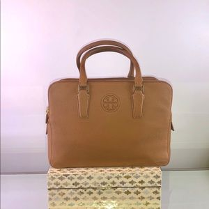 Tory Burch Bark Leather Handbag